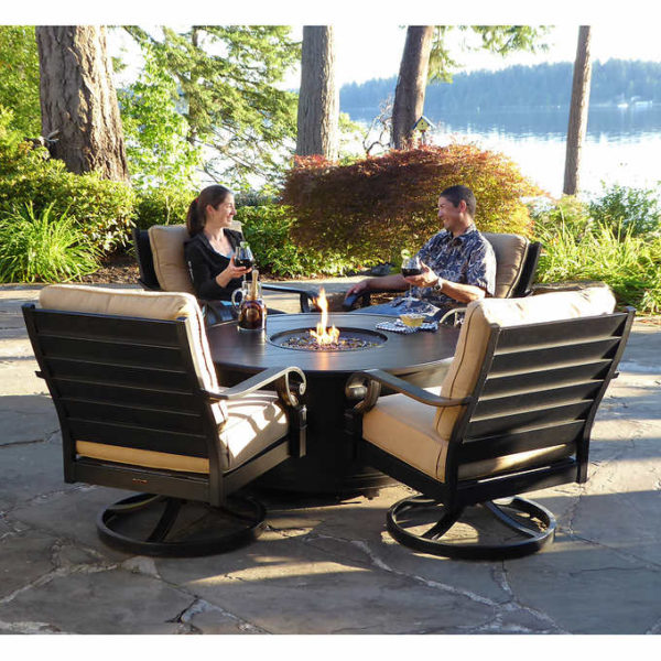 Costco Furniture Coupons: Verena 5-piece Fire Chat Set