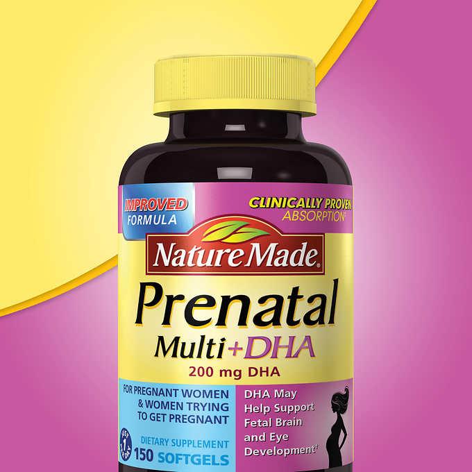 Nature Made Prenatal Vitamins With Dha Coupon
