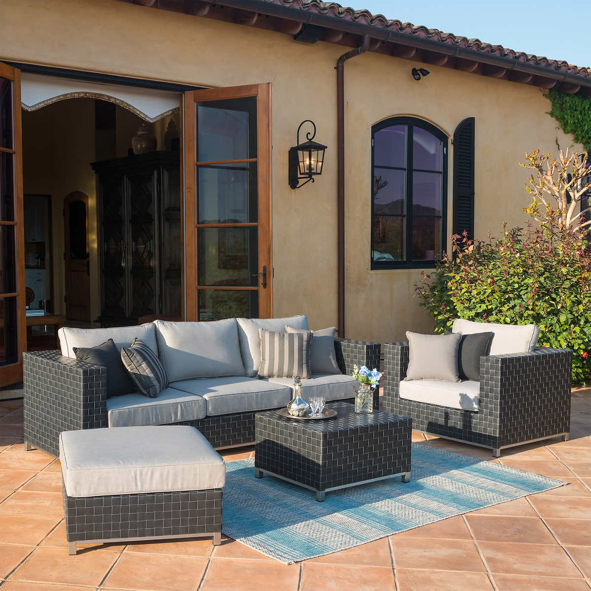 Costco Furniture Coupons: Soho 6-piece Seating Set By Sirio Oho 6-piece Deep Seating Set