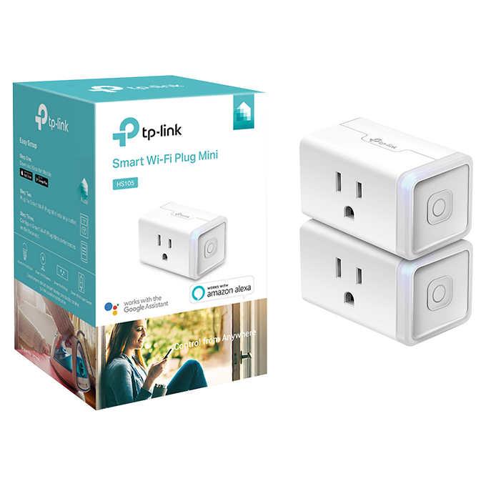 TP Link Mini Smart Plug 2-pack,HS105 (2-pack) Smart Plug Mini